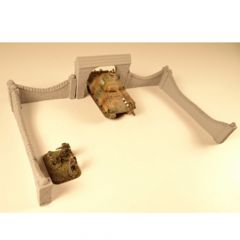 ND1023 Wall Set with Gate, 4 pieces