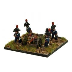 FR310 French 8 Lbr Artillery Crew in Bicorne