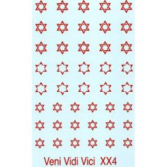 XX4 Star of David Design