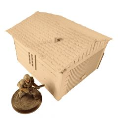 ND1042 Outbuilding, lift-off roof