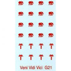 G21 Elephant and Palm Tree Design