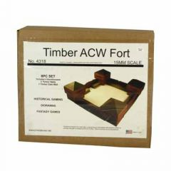 JR4318 ACW / Frontier Timber Fort (8 piece)