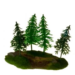 JR3771 Pinetree Stand with Timbers