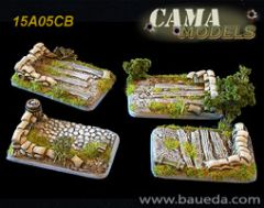 15A05CB Four Medium / Light Artillery Bases