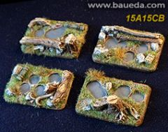 15A15CB 4 infantry bases forest