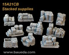 15A21CB Battlefield Accessories (Stacked Supplies)