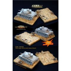 15A27CB Large Tank Scenic Bases