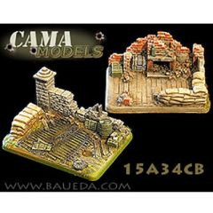 15A34CB Two Heavy Artillery Scenic Bases