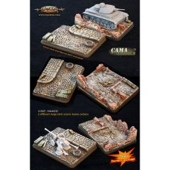 15A40CB Large Tank Scenic Bases