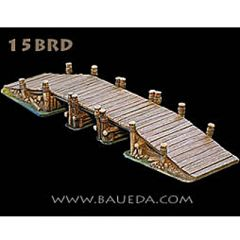 15BRD Rural Wooden Bridge