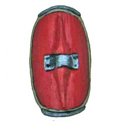 S1 Curved Republican Roman Shields (smooth edge)
