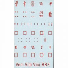 BB3 Small Rectangular Pict Shields