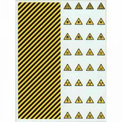 XX1 Warning Stripes and Hazard Signs