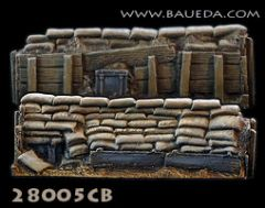 28005CB Sandbag Entrenchment Straight