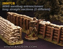 28007CB Sandbag Entrenchments