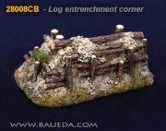 28008CB Log Entrenchment Corner