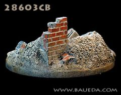 28603CB 28mm round scenic base