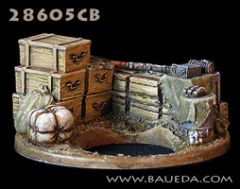 28605CB German Eastern Front Ammunition Dump Scenic Base