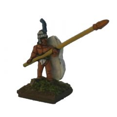 MAM8 Spearmen, figure-of-eight shield