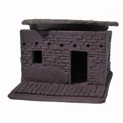JR5202 Adobe Hovel with Porch