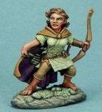 DSM7310 Visions in Fantasy Female Halfling Ranger with Bow