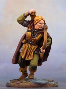 DSM7371 Visions in Fantasy Female Ranger with Bow