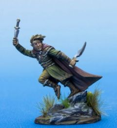 DSM7478 Visions in Fantasy Male Halfling Rogue with Daggers