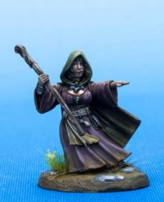 DSM7479 Visions in Fantasy Female Halfling Mage with Staff