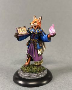 DSM7655 Critter Kingdoms Kitsune Mage with Spell Book