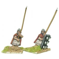 SUM1 Spearman, studded cloak some with shield
