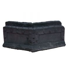 JR6707 Fortification Angled Walls x2