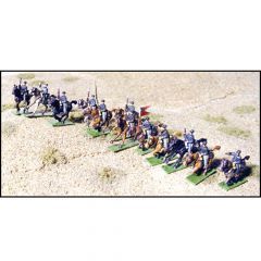 GHQ ACW59 United States Mounted Cavalry, Charging