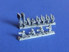 ACW 613 Zouave Infantry strips with Command and Skirmishers x15