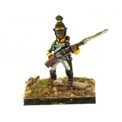 AHU19 Fusilier in Helmet, musket across chest