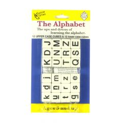 Alphabet Dice upper and lower cases D6