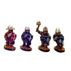 AOK6 11th-12th Century Men-at-Arms or Sergeants with hand weapons