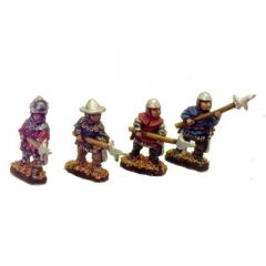 AOK7 11th-12th Century Men-at-Arms with Polearms (Billmen)