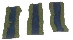 ARV6-4 River Straights, 1 inch, (3 pieces)