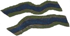 ARV6-8 River Pack Bends, 1 inch, (2 pieces)