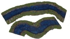 ARV6-9 River Pack Bends, 1 inch, (2 pieces)