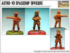 ASTRO-10 Spaceship Officers