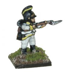 AT101 Austrian Fusiliers with Helmet, firing