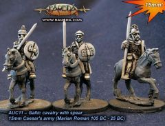 AUC11 Gallic Cavalry with Spear