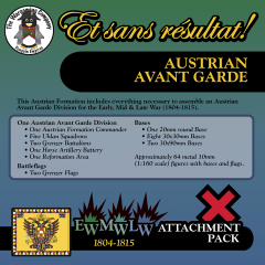 ESR XEML AU003 Austrian Avant Garde (Early-Mid-Late War) Attachment Pack