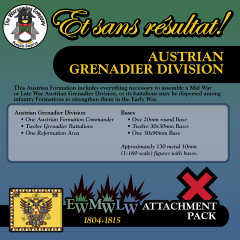 ESR XEML AU006 Austrian Grenadier Division (Early-Mid-Late War) Attachment Pack