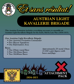 ESR XEML AU004 Austrian Light Kavallerie Brigade (Early-Mid-Late War) Attachment Pack