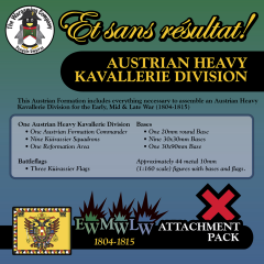ESR XEML AU002 Austrian Heavy Kavallerie Division (Early-Mid-Late War) Attachment Pack