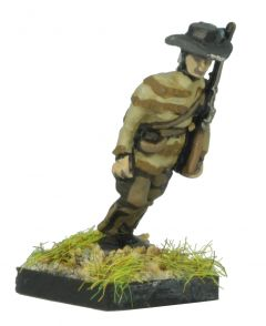 AWA20 American Rifleman in Slouch Hat, marching