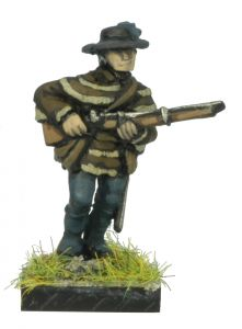 AWA21 American Rifleman in Slouch Hat, advancing