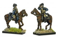 AWA33 American Mounted Generals and ADCs